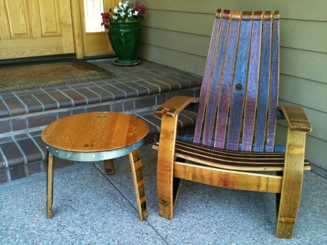 Woodwork Rocking Chair Wine Barrel Furniture Plans Pdf Plans